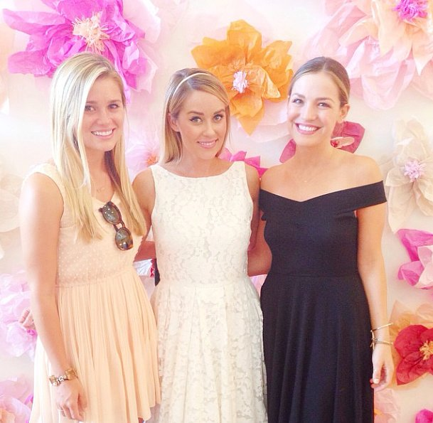 Lauren Conrad's Bridal-Shower Dress