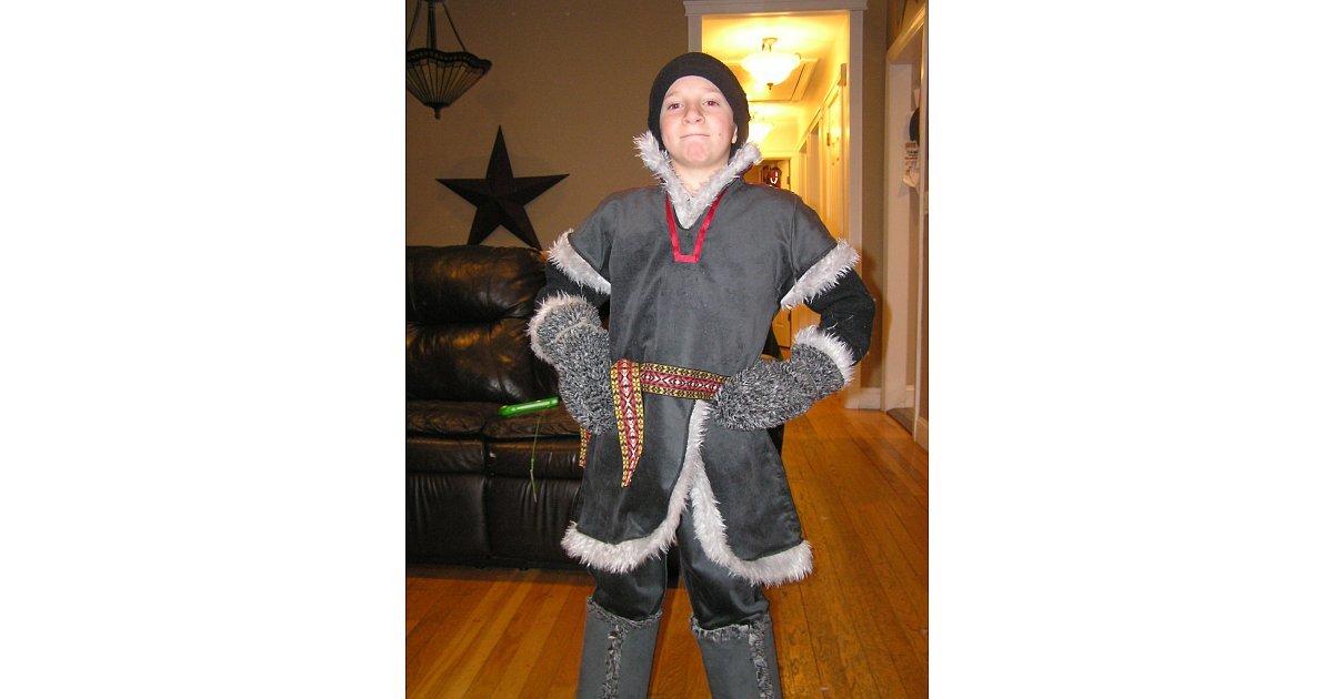 Kristoff Costume Images This Handmade Kristoff Costume