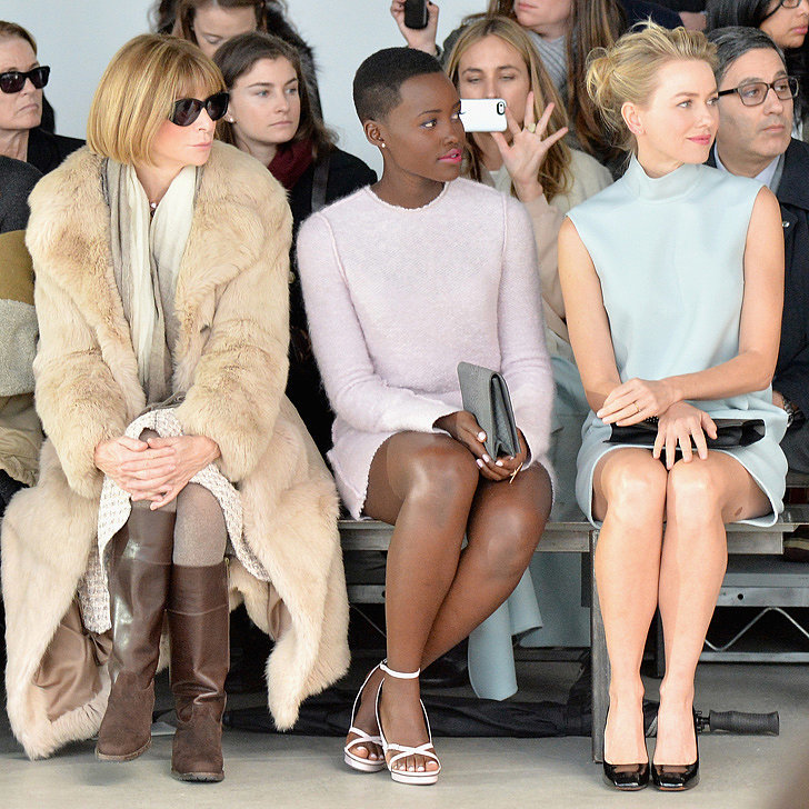 Celebrities With Anna Wintour at Fashion Week Pictures