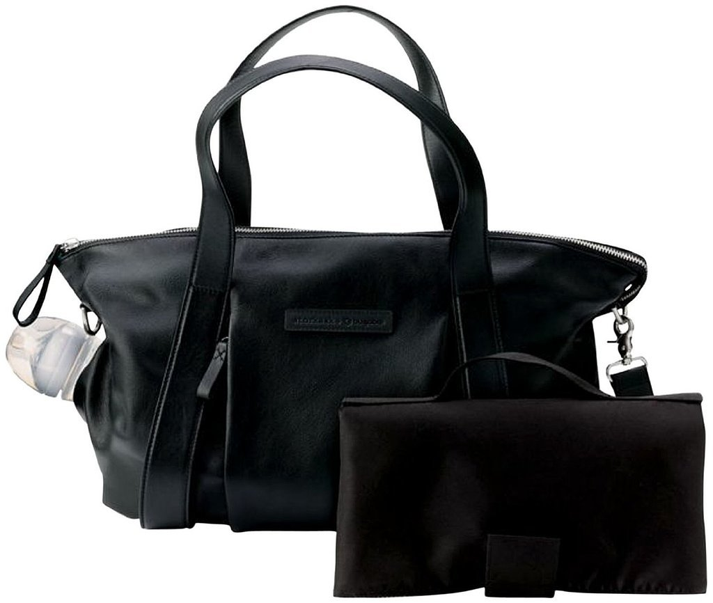Bugaboo Storksak Leather Diaper Bag