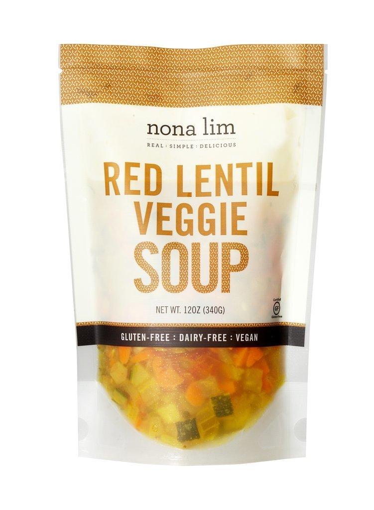 Nona Lim Red Lentil Veggie Soup