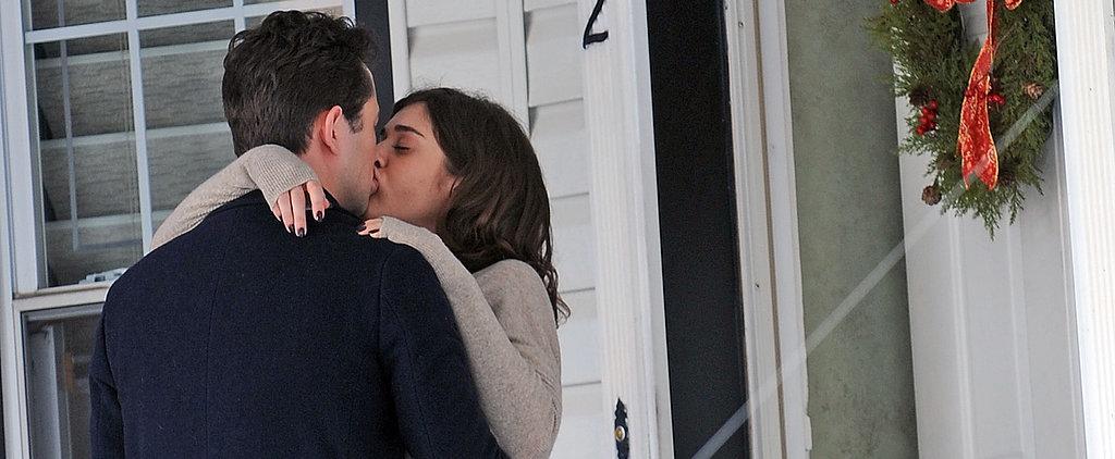 Why Are Lizzy Caplan and Joseph Gordon-Levitt Kissing?