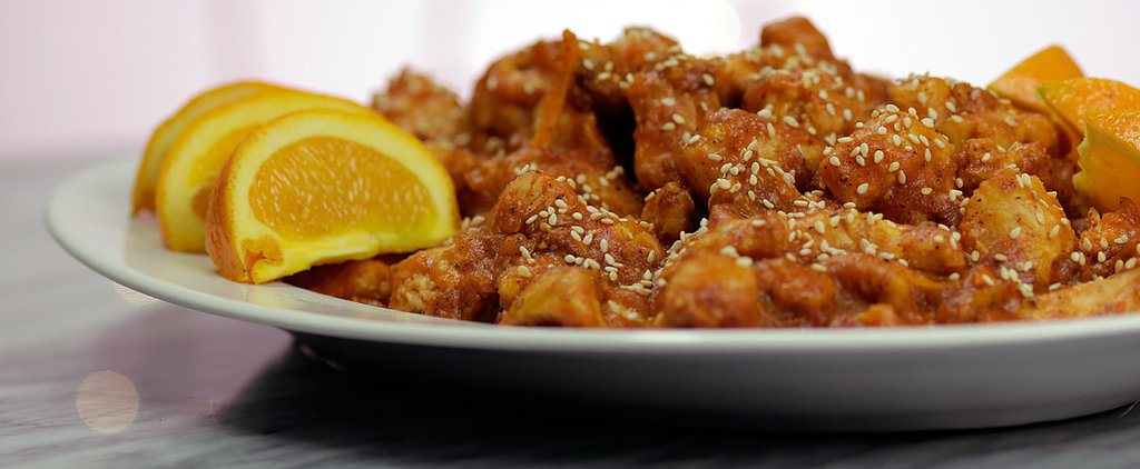 Sweet and Spicy Orange Chicken