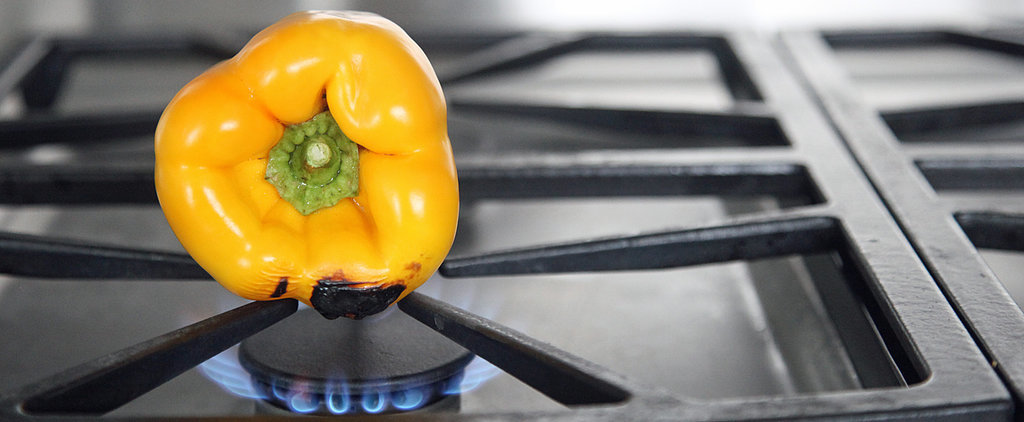 "How to ""Roast"" Bell Peppers Without Turning On Your Oven"