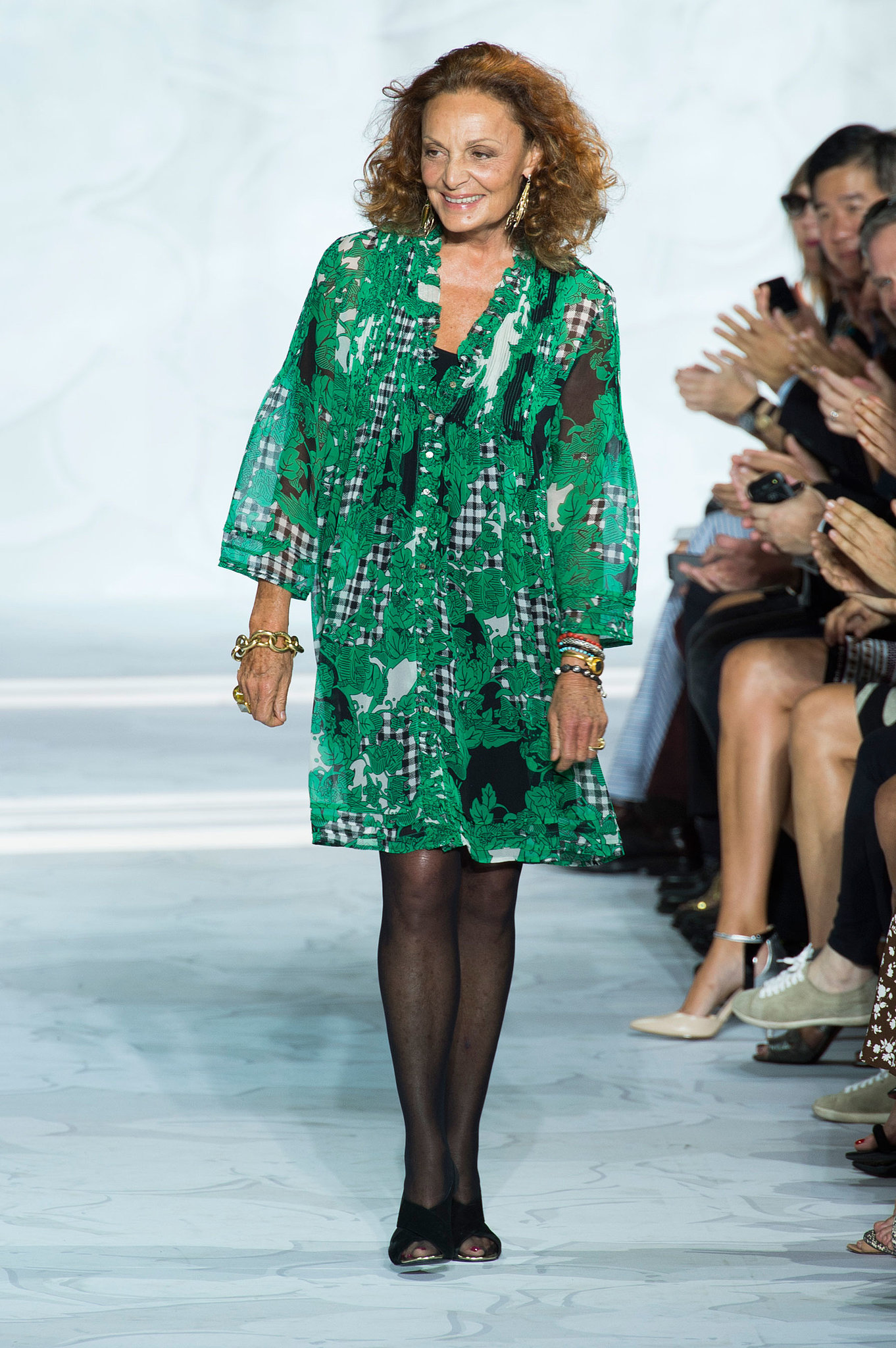 diane von furstenberg spring 2015 dvf just outdid 40 years of fashion history popsugar fashion. Black Bedroom Furniture Sets. Home Design Ideas