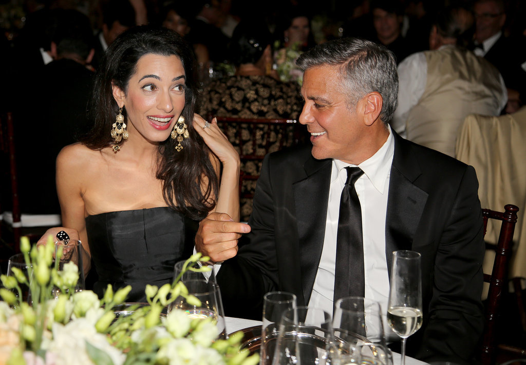 George Clooney and Amal Alamuddin Red Carpet Pictures ...