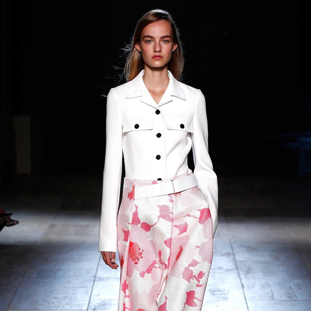 Victoria Beckham Spring 2015 Show | New York Fashion Week