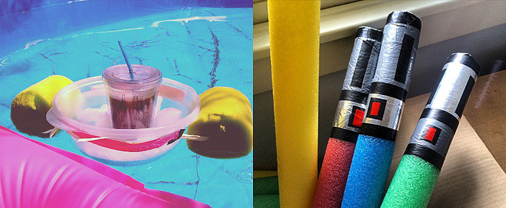 You Won't Believe All of the Things You Can DIY With Pool Noodles