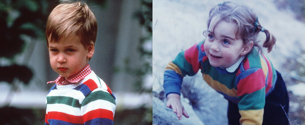 Flashback: See Prince William and Kate Middleton as Kids!