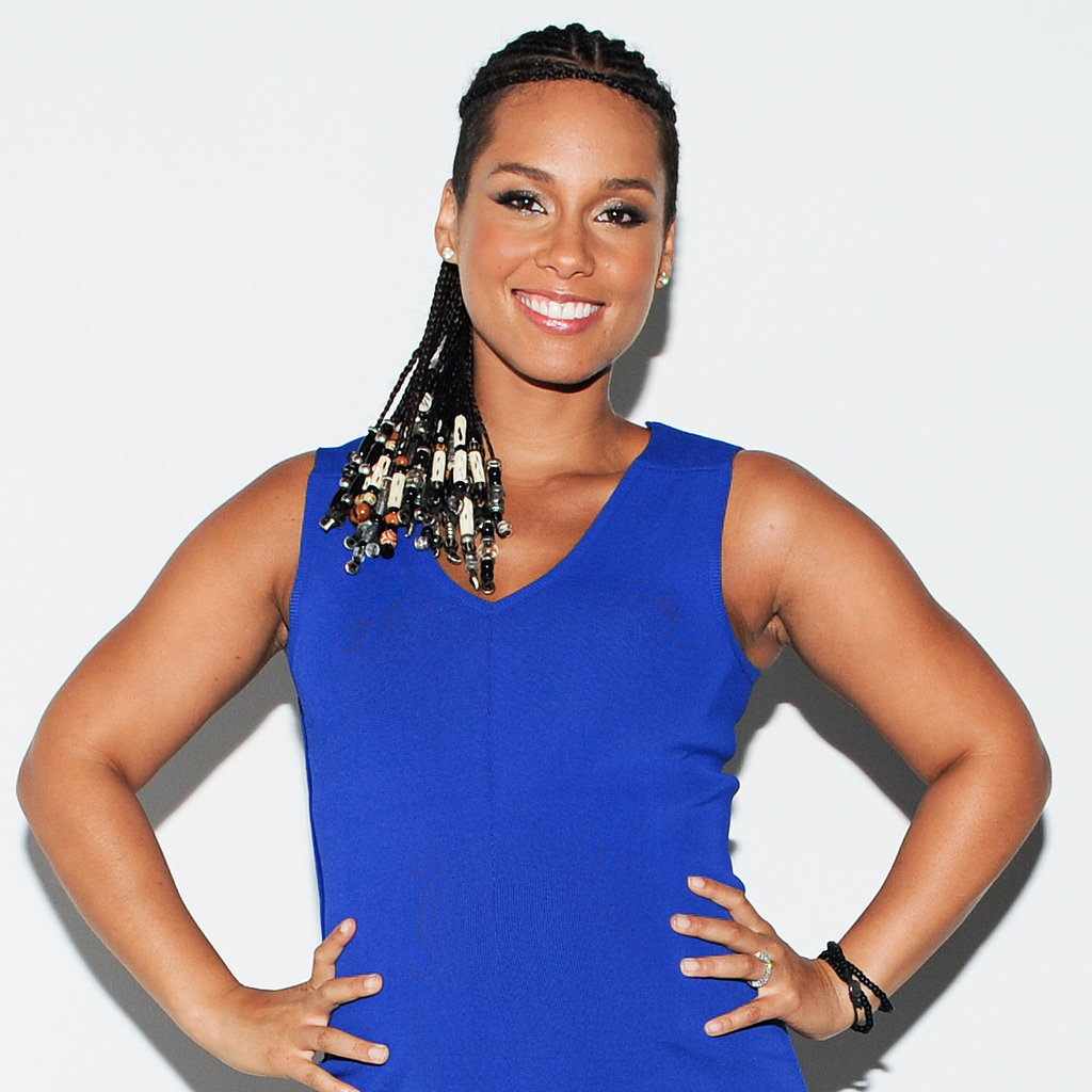 Alicia Keys at the Barneys New York x Nars Cosmetics 20th Anniversary Celebration