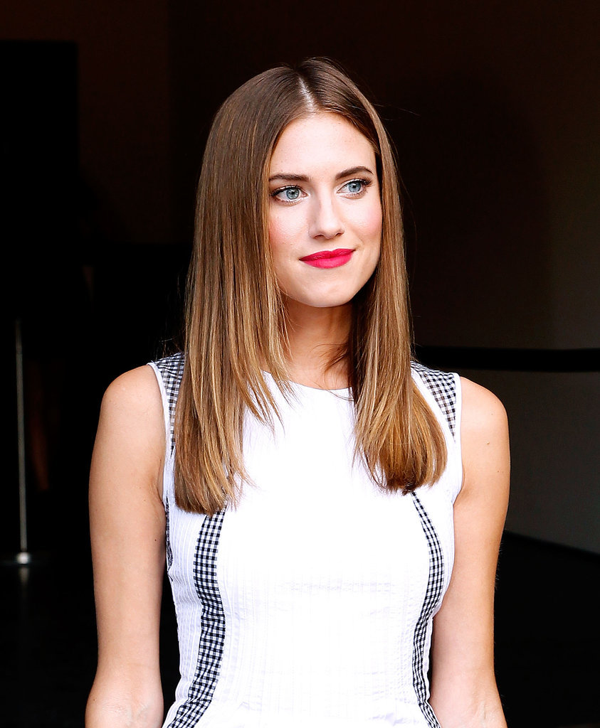 Allison Williams at Diane Von Furstenberg