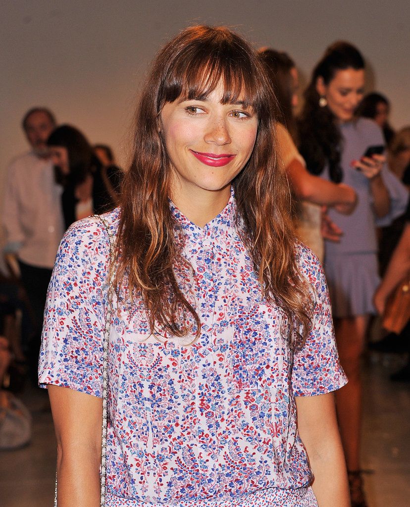 Rashida Jones at Rebecca Taylor