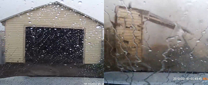 This Man's Brush With a Horrifying Tornado Will Make Your Jaw Drop