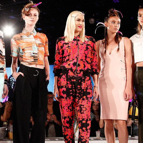 Gwen Stefani Interview   New York Fashion Week Spring 2015