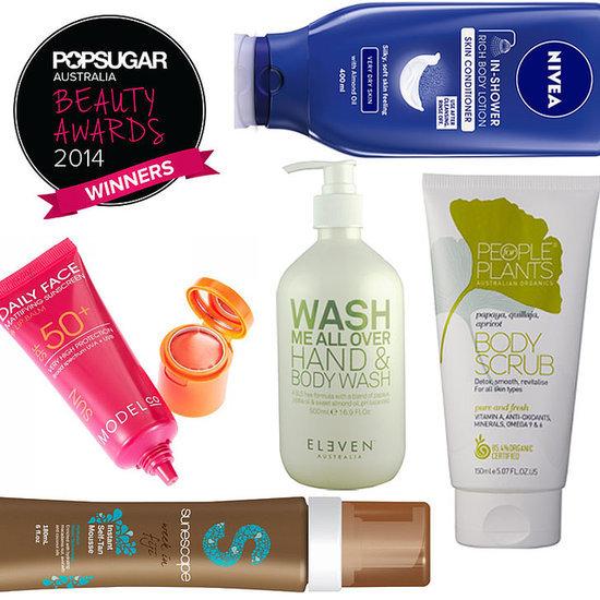 POPSUGAR Australia Beauty Awards 2014: Winning Body Products