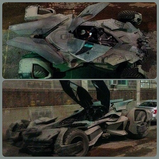 Batman v Superman Batmobile Pictures
