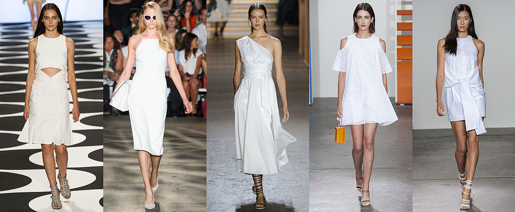 The 28 Best White Dresses That Walked the Spring Runways