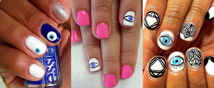 13 Evil Eye Manicures You Won't Be Able to Look Away From
