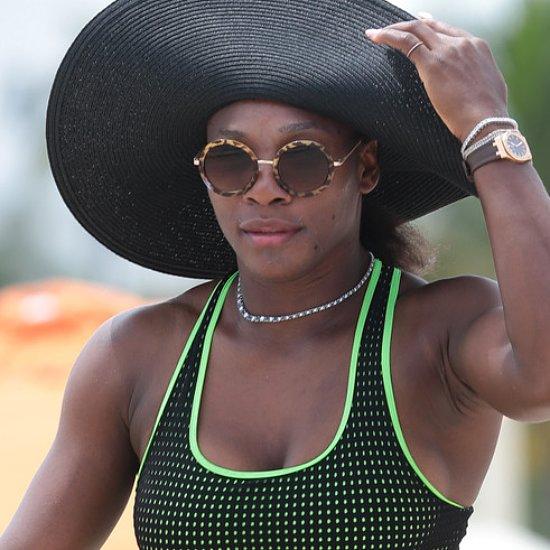 Serena Williams Wears a Bikini in Miami Beach | Pictures