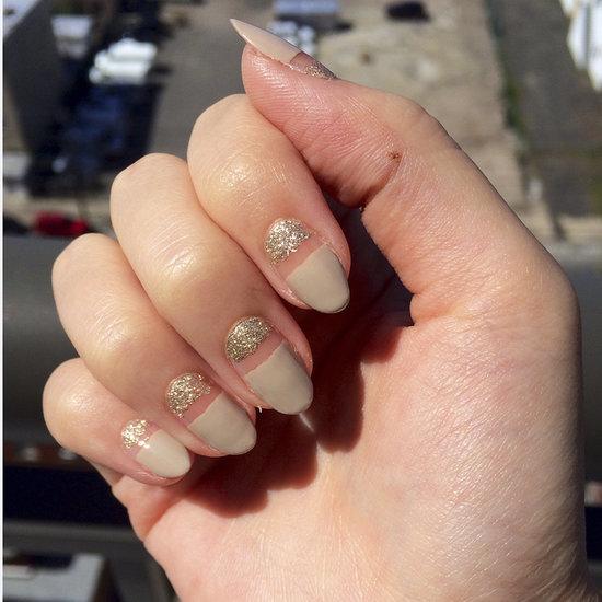 Sparkly Nail Art Design