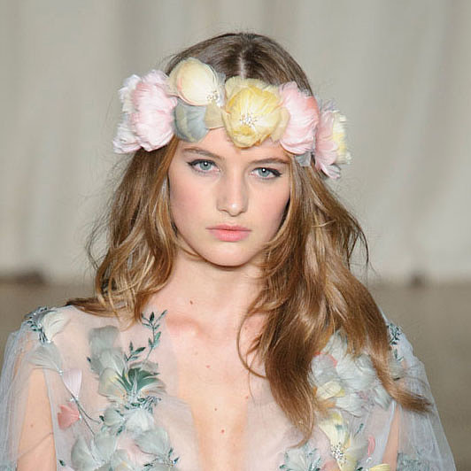 Beach Waves How To Marchesa Spring Summer 2015
