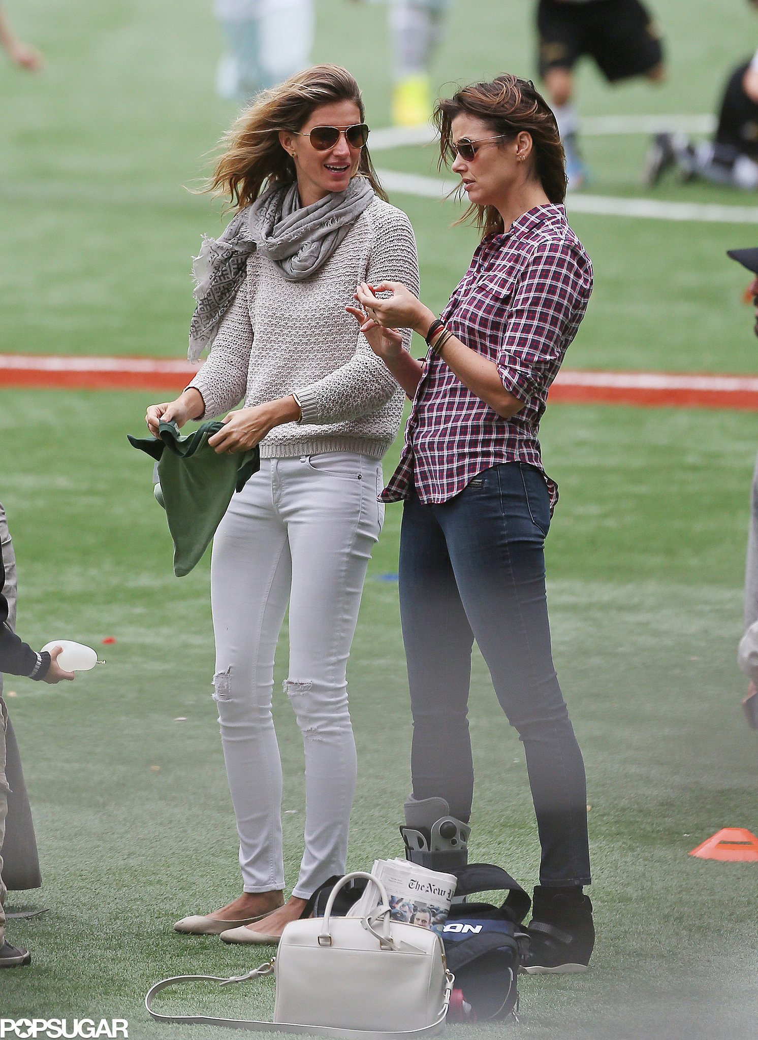 Bridget Moynahan with gisele
