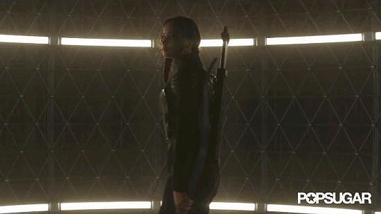The Mockingjay in All Her Glory