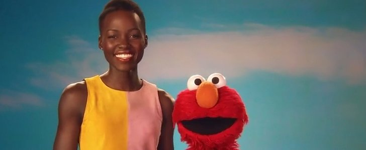 Lupita Nyong'o and Elmo Love the Skin They're In