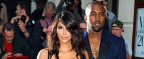 This Is How Kim and Kanye Make Their Runway Debut