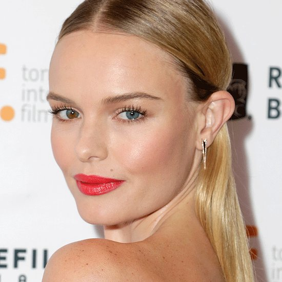 Kate Bosworth Beauty Hair Makeup Red Lipstick Inspiration