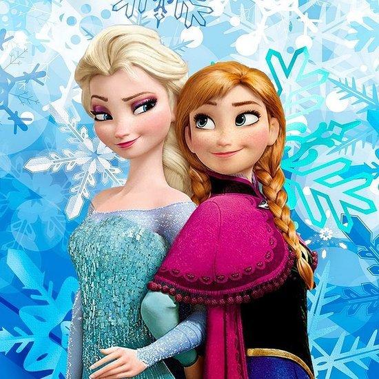Frozen-Inspired Wedding Dress