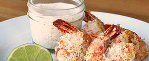 Healthy Hors D'oeuvre: Baked Coconut Prawns