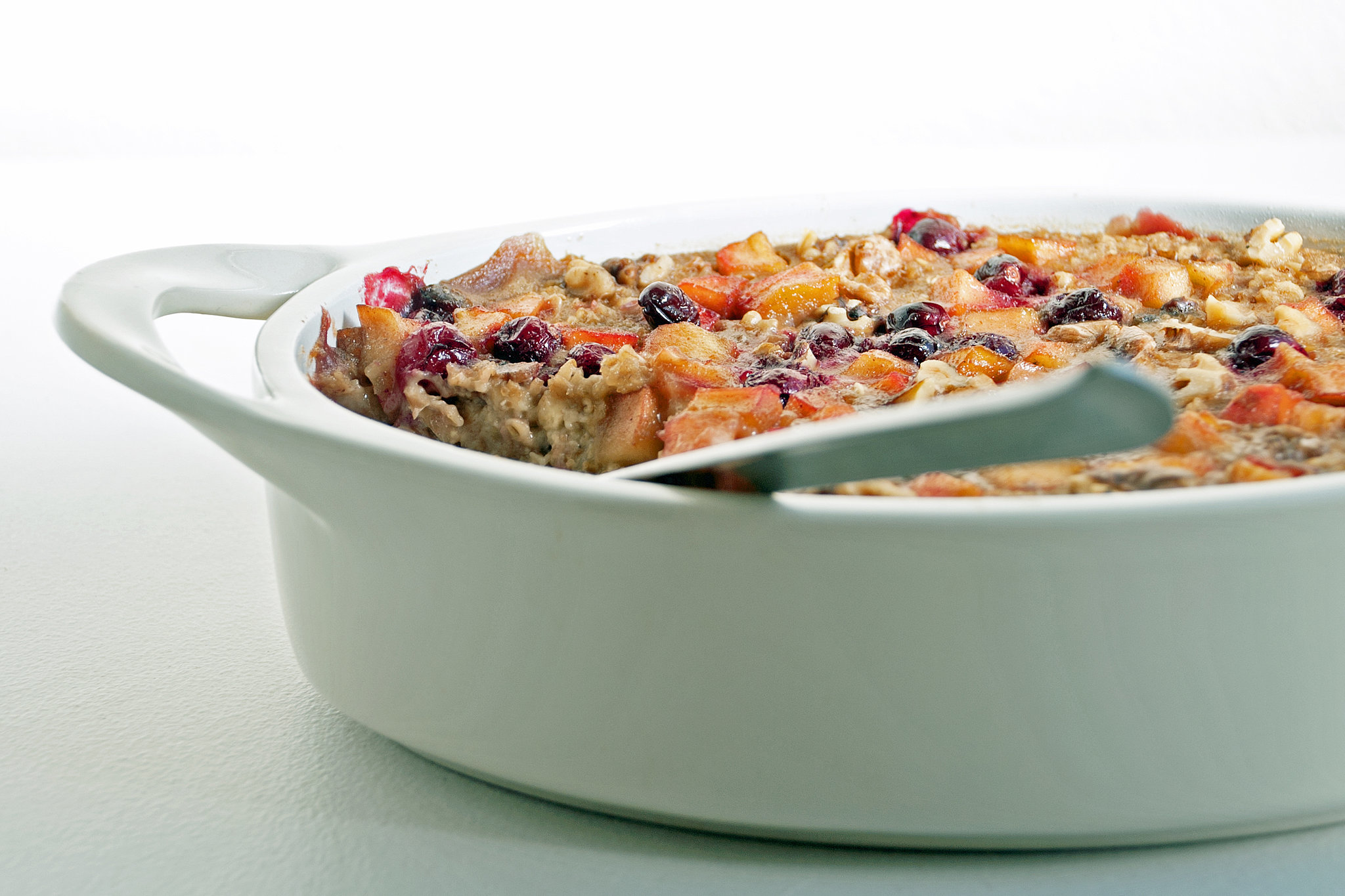 Cranberry-Apple Baked Oatmeal