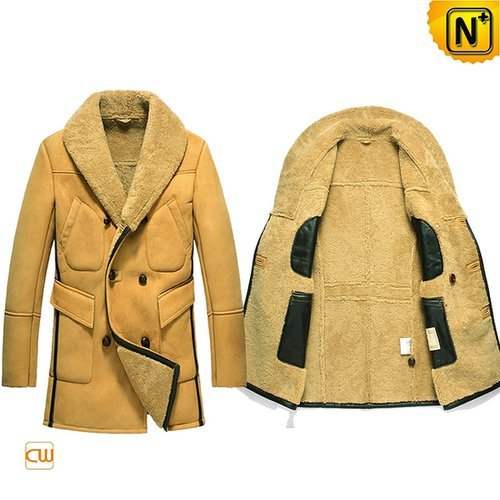 Mens Leather Shearling Coats CW851423