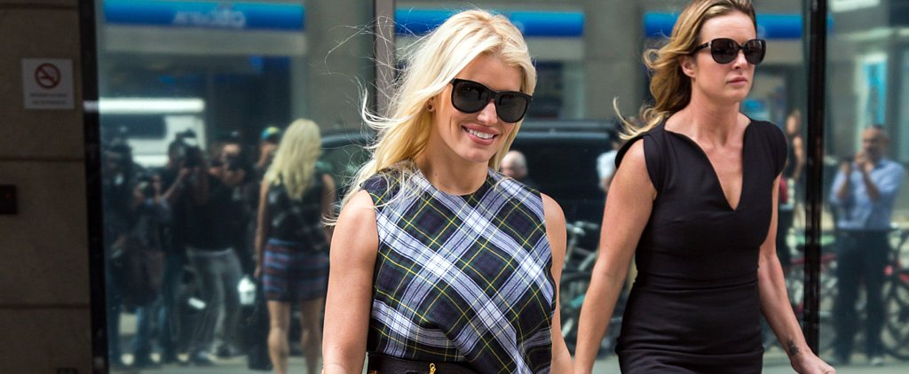 Jessica Simpson Just Took Plaid to Another Level — but Do You Approve?