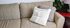 DIY Sweater Pillows — No Sewing Machine Needed