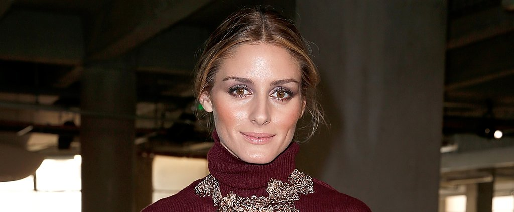 Olivia Palermo's Two-Toned Metallic Eye Is Mesmerizing