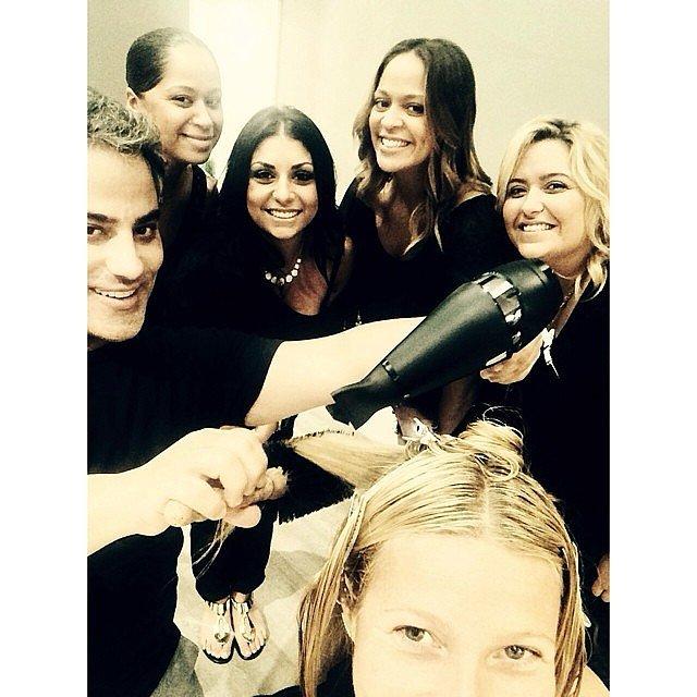 The Glam Squad Selfie