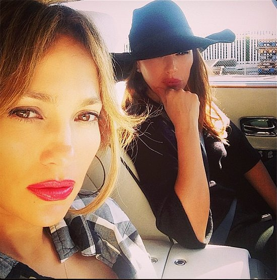 Jennifer Lopez and Leah Remini in Drunk Driver Car Accident