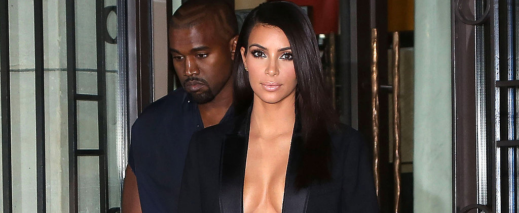 Is Kanye Trying to Keep Up With Kim in Paris?