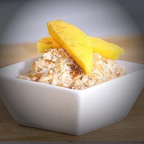 Coconut Mango Rice Pudding