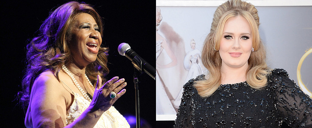 """Listen to Aretha Franklin Cover Adele's """"Rolling in the Deep"""""""