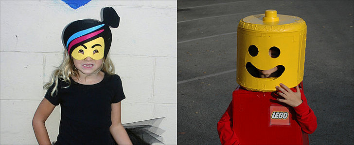 Everything Is Awesome When You're a Lego For Halloween