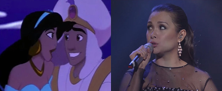 "The Original Princess Jasmine's Live Version of ""A Whole New World"" Will Give You Chills"