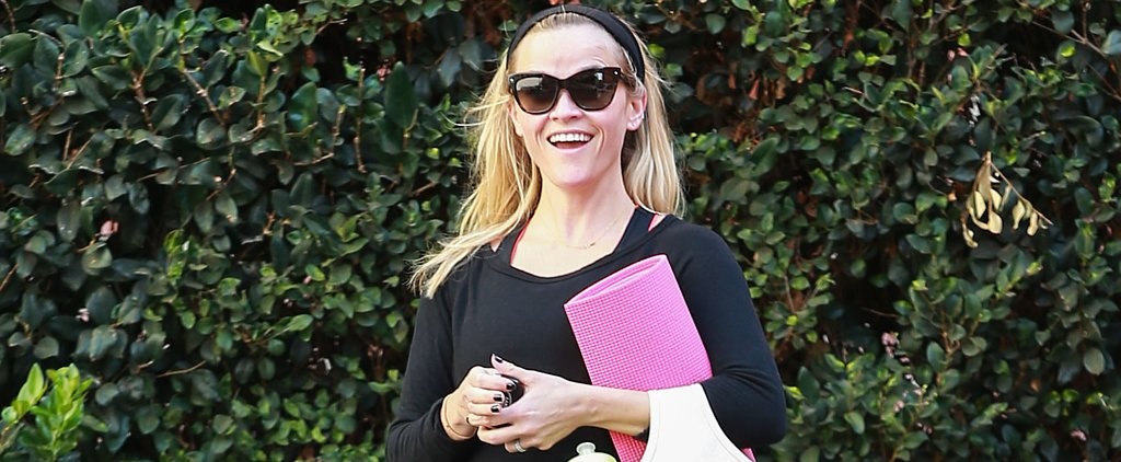 Paging Elle Woods! Reese Witherspoon Stole Your Yoga Mat!