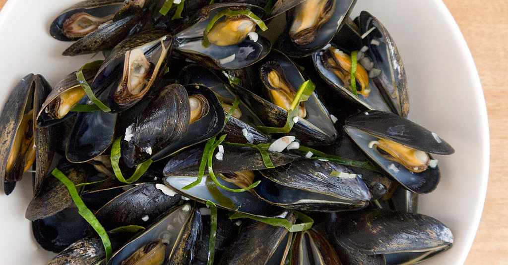 These Lime-Leaf-Steamed Mussels Taste Like Slurping Heaven