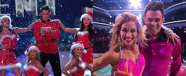 "Mean Girls' Aaron Samuels Did the ""Jingle Bell Rock"" Routine on DWTS"