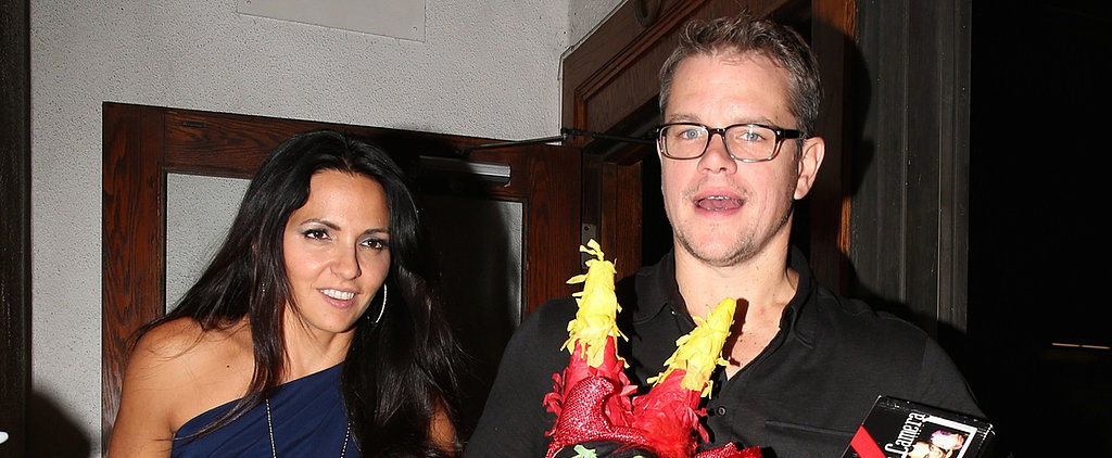 Matt Damon Sure Knows How to Celebrate Getting Older