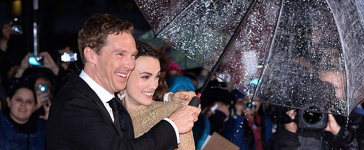 Keira Knightley's Valentino Dress Just Got Upstaged by an Umbrella
