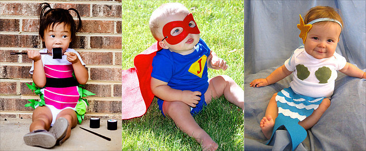 Forget the Costume, and Try One of These Halloween Onesies For Baby!
